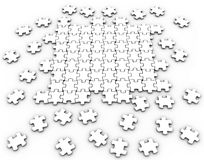 White Puzzle Royalty Free Stock Images