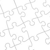 White puzzle Royalty Free Stock Photos