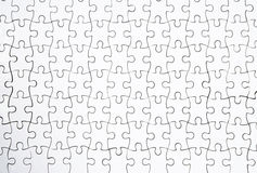 White puzzles Royalty Free Stock Photography