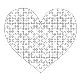 jigsaw puzzle heart stock illustrations 825 jigsaw puzzle heart