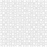 400 White Puzzles. Vector Illustration. Stock Image