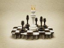 White queen stock photo
