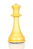 White queen chess piece Royalty Free Stock Photos