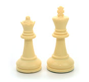 White Queen and King stock photos