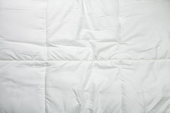 White quilt texture Royalty Free Stock Photography
