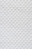 White quilted fabric Royalty Free Stock Photography
