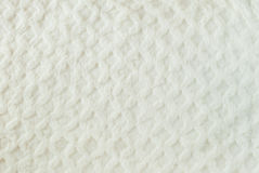White quilted fur background Royalty Free Stock Photo