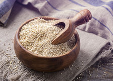White quinoa Stock Images