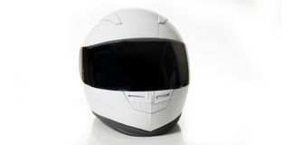 White Racing Helmet Royalty Free Stock Images