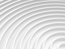 White radial abstract background for. Graphic design, book cover template, business brochure, website template design. 3D illustration Royalty Free Stock Photos