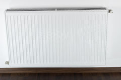 White radiator Stock Image