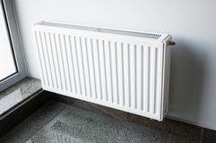 White Radiator Stock Images
