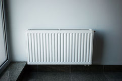 White Radiator Royalty Free Stock Images