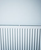 White Radiator Stock Photo