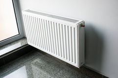 White radiator Royalty Free Stock Image