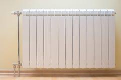 White radiator Stock Photography