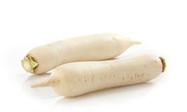 White radish root Stock Photo