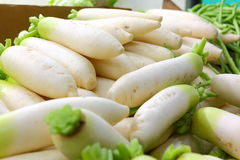 White radish on sale Stock Images