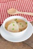 White radish soup. Royalty Free Stock Photography