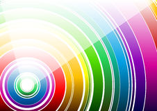 White rainbow Royalty Free Stock Photo
