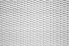 White rattan weave pattern texture Royalty Free Stock Photo