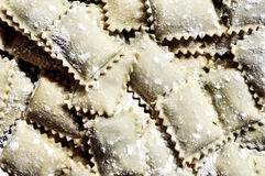 White Ravioli Pasta Stock Photography