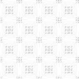 White rectangle groups on gray ornament seamless Stock Image