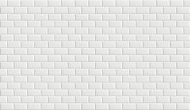 White rectangle mosaic tiles with cracks on surface. vector illustration