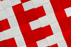 White and red basket texture background. White and red basket background color Royalty Free Stock Photo