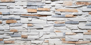 White and red brick decorative wall. background, texture, decoration. Stock Photo