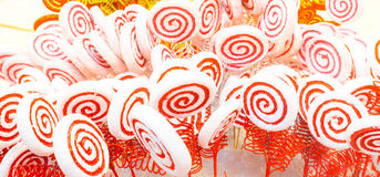 White and red candy Stock Photography