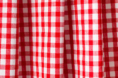 White and red checkered background. The white and red checkered background Stock Photography