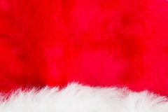 White and red fur Royalty Free Stock Images