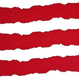 White and red horizontal stripes Royalty Free Stock Photos