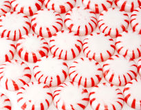 White and red mints Royalty Free Stock Photography