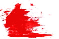 White and red paint royalty free stock image