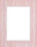 White & red photo frame Royalty Free Stock Photos