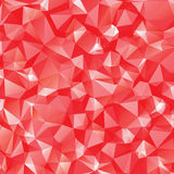 White and red polygonal Stock Photos