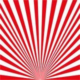white red rays stock illustration