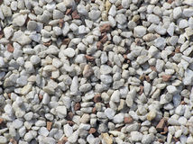 White and red stones Stock Image