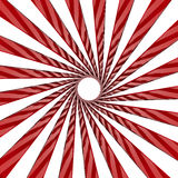 White and red twirl Stock Image