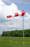 White-red windsock Stock Photos
