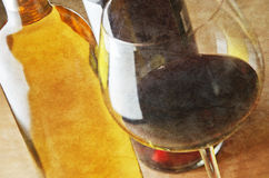 White and red wine Stock Photography