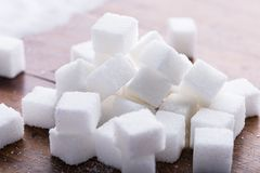 White refined sugar Royalty Free Stock Photography