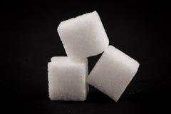 White refined sugar Stock Photo