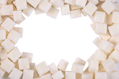 White refined sugar Stock Image