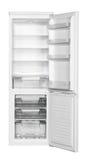 White refrigerator Lizenzfreie Stockfotos