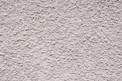 White relief plaster on wall closeup Stock Image