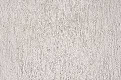 White relief plaster on wall closeup Royalty Free Stock Photos