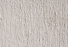 White relief plaster on wall closeup Royalty Free Stock Image